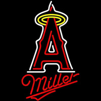 Miller Los Angeles Angels of Anaheim MLB Beer Sign Neon Sign