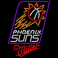Miller Phoenix Suns NBA Beer Sign Neon Sign