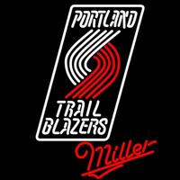 Miller Portland Trail Blazers NBA Beer Sign Neon Sign