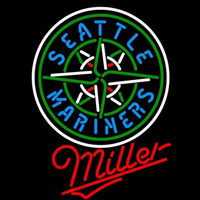 Miller Seattle Mariners MLB Beer Sign Neon Sign