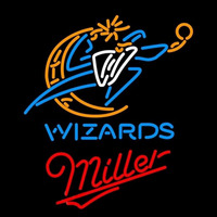 Miller Washington Wizards NBA Beer Sign Neon Sign