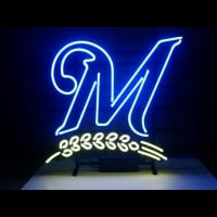Milwaukee Brewers Neon Sign 4 Neon Sign