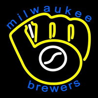 Milwaukee Brewers Primary 1978 1993 Logo MLB Neon Sign Neon Sign