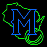Milwaukee Brewers Secondary 1997 Logo MLB Neon Sign Neon Sign