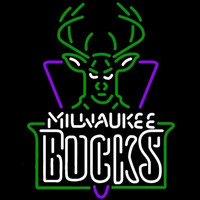 Milwaukee Bucks NBA Neon Sign Neon Sign