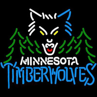 Minnesota Timberwolves NBA Neon Sign Neon Sign