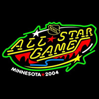 Minnesota Wild 2004 All Star Game Neon Sign Neon Sign
