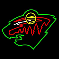 Minnesota Wild New Team Logo NHL Neon Sign Neon Sign