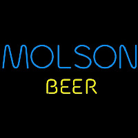 Molson Beer Sign Neon Sign