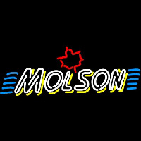Molson Double Stroke Marquee Neon Sign