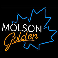 Molson Golden Blue Maple Leaf Beer Sign Neon Sign