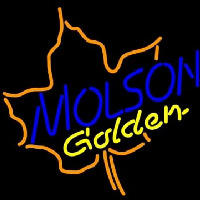 Molson Golden Maple Leaf Neon Sign