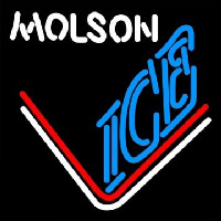 Molson Ice Hockey Neon Sign