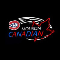 Molson Montreal Canadiens Neon Sign