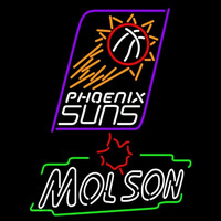 Molson Phoenix Suns NBA Beer Sign Neon Sign