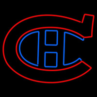 Montreal Canadiens Primary 1917 18 1918 19 Logo NHL Neon Sign Neon Sign