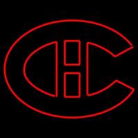 Montreal Canadiens Primary 1919 20 1920 21 Logo NHL Neon Sign Neon Sign
