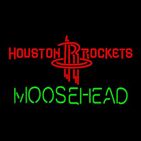 Moosehead Houston Rockets NBA Beer Sign Neon Sign