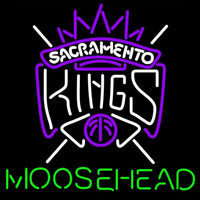 Moosehead Sacramento Kings NBA Beer Sign Neon Sign