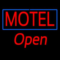 Motel Open Neon Sign