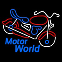 Motor World Neon Sign