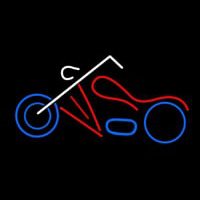 Motorcycle Logo Neon Sign