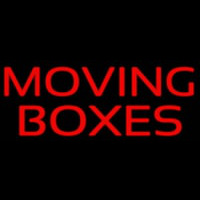 Moving Bo es Neon Sign