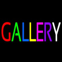 Multi Color Gallery Neon Sign