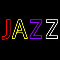 Multicolor Jazz Neon Sign