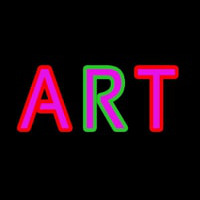 Multicolored Art Neon Sign