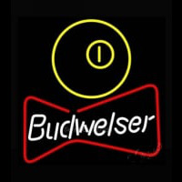 NEW Budweiser Pool Bowtie Beer Light Neon Sign