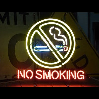 NO SMOKING Neon Sign