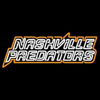 Nashville Predators Wordmark 1998 99 2002 03 Logo NHL Neon Sign Neon Sign