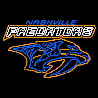 Nashville Predators Wordmark 1998 99 2010 11 Logo NHL Neon Sign Neon Sign
