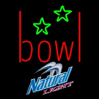 Natural Light Bowling Alley Beer Sign Neon Sign