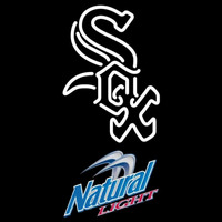 Natural Light Chicago White Sox MLB Beer Sign Neon Sign