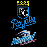 Natural Light Kansas City Royals MLB Beer Sign Neon Sign
