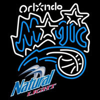 Natural Light Orlando Magic NBA Beer Sign Neon Sign