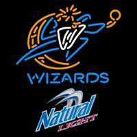 Natural Light Washington Wizards NBA Beer Sign Neon Sign