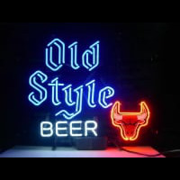 Nba Chicago Bulls Old Style Beer Basketball Neon Sign