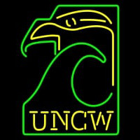 Nc Wilmington Seahawks Primary Pres Logo NCAA Neon Sign Neon Sign