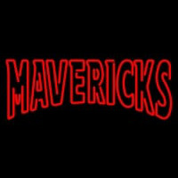 Nebraska Omaha Mavericks Wordmark Pres Logo NCAA Neon Sign Neon Sign