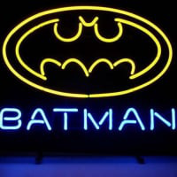 New Batman Superhero Comic Neon Sign