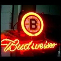 New Budweiser Beer Nhl Boston Bruins Beer Bar Neon Light Sign Neon Sign