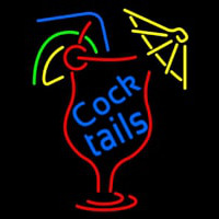New Cocktails Neon Sign