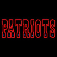 New England Patriots Wordmark   Logo NFL Neon Sign Neon Sign