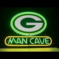 New Greenbay Packer Man Cave Neon Sign