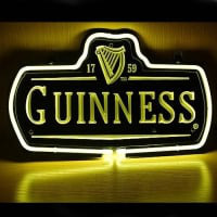 New Guinness 1759 Logo Neon Sign
