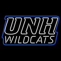 New Hampshire Wildcats Wordmark Pres Logo NCAA Neon Sign Neon Sign