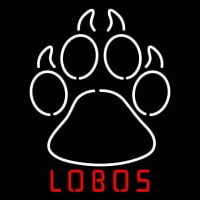 New Mexico Lobos Alternate Pres Logo NCAA Neon Sign Neon Sign